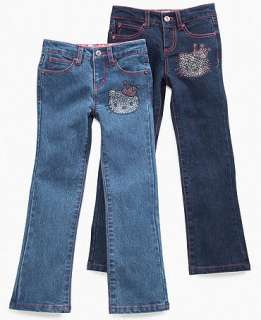 Hello Kitty Kids Jean, Little Girls Rhinestone Jeans   Kidss