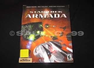 Star Trek Armada 1game for the PC on cd rom