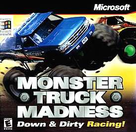 Monster Truck Madness PC, 1996 0093007836260