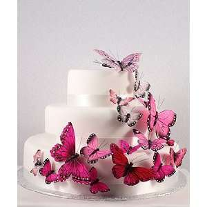 Butterfly Wedding Cake Decorations   4 gorgeous colors