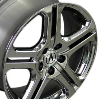 18 x7.5 Acura Black Chrome TL Wheels Rims