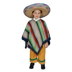 Mexican Boy Child Costume Size 12 14 Large Toys & Games