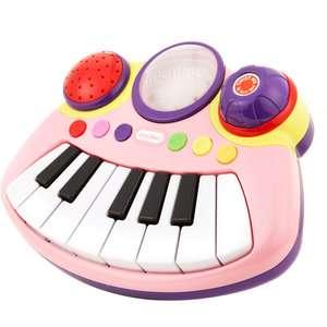Pop Tunes Big Keyboard, Pink Pretend Play, Arts & Crafts