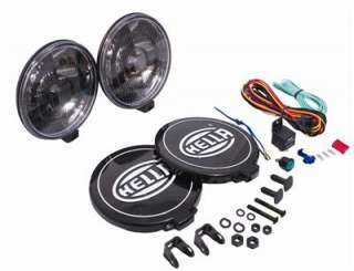 Hella 500 Black Magic Driving Light Kit Halogen Light