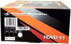 NEW POWER ACOUSTIK 9 GRAY DUAL DVD HEADREST MONITORS