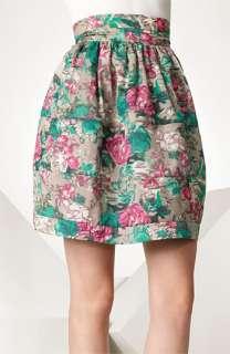Elizabeth and James Floral Print Skirt
