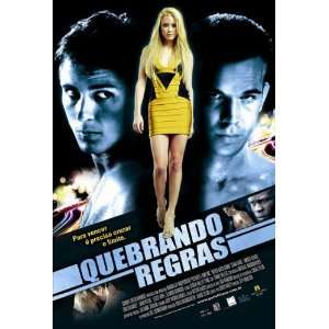 Brazilian 27x40 Sean Faris Djimon Hounsou Amber Heard