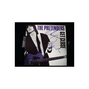 Hynde, Chrissie (The Pretenders) Get Close Album Cover (by Chrissie
