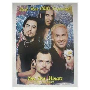 Hot Chili Peppers Poster Old RHCP Dave Navarro The: Everything Else