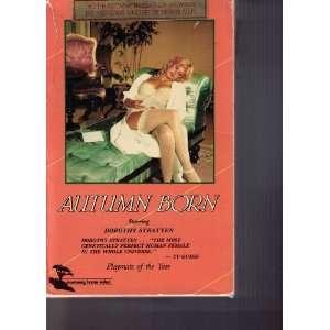 Autumn Born [VHS]: Dorothy Stratten, Ihor Procak, Nate