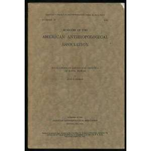 of the American Anthropological Association): John Fee Embree: Books