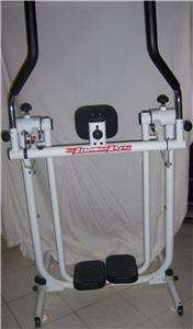 Elliptical Air Walker Glider FITNESS FLYER Workout Exercise Machine