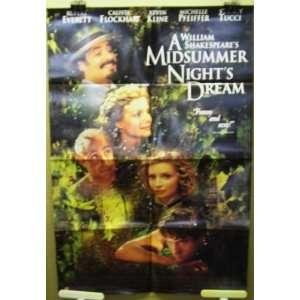 Poster A Midsummer Nights Dream Rupert Everett Michelle Pfeiffer F67