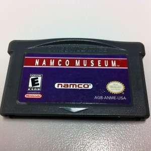 NAMCO MUSEUM Gameboy Advance GBA Nintendo Game Boy