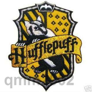 8PCS Set Harry Potter House Crest Iron On Patch Badge Magic Fancy