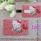 4GB Hello Kitty Credit Card USB 2.0 Flash Drive
