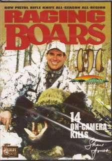 Raging Boars III ~ Hog ~ Wild Boar Hunting DVD NEW