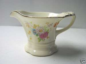 Lovely Vintage Edwin Knowles China Creamer numbered