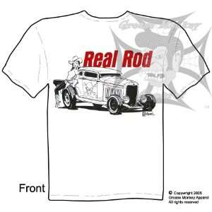 Size Medium, 32 Ford 5 Window, Hot Rod T Shirt, New, Ships