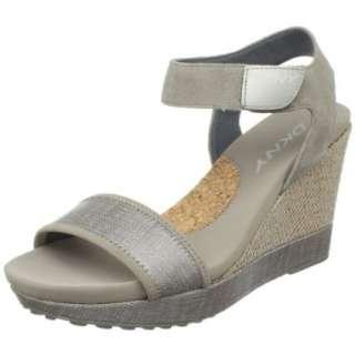 DKNY Womens Hera Wedge Sandal   designer shoes, handbags, jewelry
