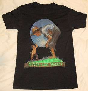 Authentic Michael Jackson Neverland Ranch T Shirt