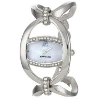 JLO by Jennifer Lopez Womens JL/2607WMSB Swarovski Crystal Silver