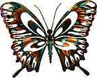REFRACTIONS 3 D METAL BUTTERFLY WALL HANGING
