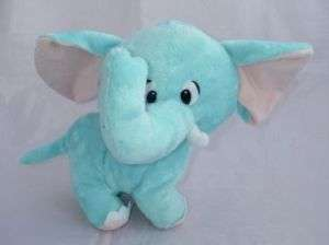 CIRCUS CIRCUS Blue/Pink Plush Elephant Stuffed Animal