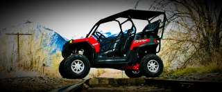 Polaris RZR XP 900 Back Seat and Roll Cage kit