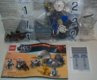 LEGO 2012 Star Wars DROID ESCAPE New Pod & Swoop Bike 9490 No