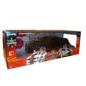 Remote Control Black 2005 Ford Mustang GT 116 Scale RC Car Toys
