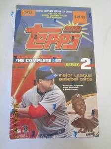 2000 Topps Baseball Complete Series 2 Set Sealed