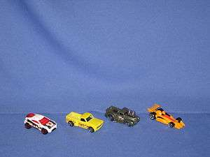 HOT WHEELS TOYOTA RSC & 69 CHEVY & 41 FORD TRUCKS & RACE CAR LOT OF 4