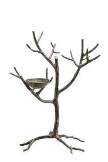 15 Aluminum Jewelry Tree Branch Bird Nest Stand Hook