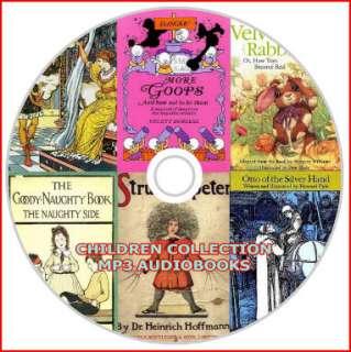 CHILDREN KIDS AUDIO BOOKS  3 DVD SET~