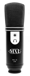MARSHALL MXL PRO 1B HIGH QUALITY USB MICROPHONE NEW