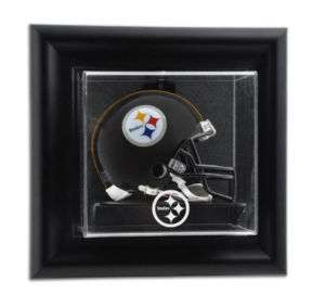 Pittsburgh Steelers Wall Mounted Mini Helmet Case